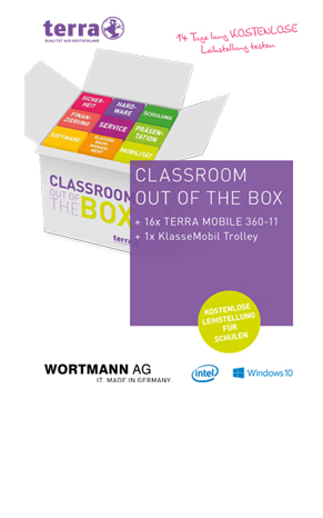 Classroom out of the Box - Trolley Aktion