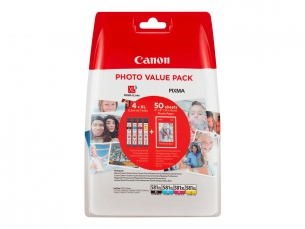 | Canon CLI-581XL C/M/Y/BK Photo Value Pack - 4er-Pack